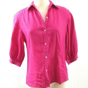Ralph Lauren Women's Pink Shirt Blouse